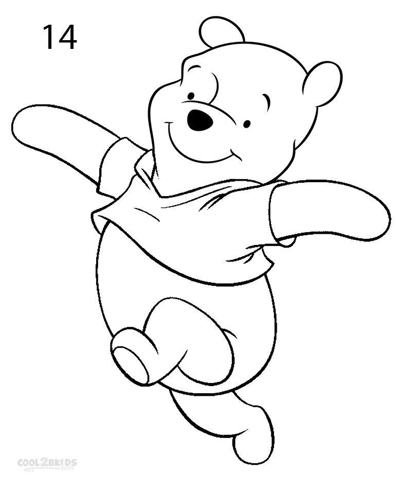 It's just an image of Persnickety Drawing Winnie The Pooh