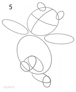 How to Draw Winnie the Pooh Step 5