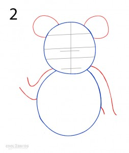 How to Draw a Panda Step 2