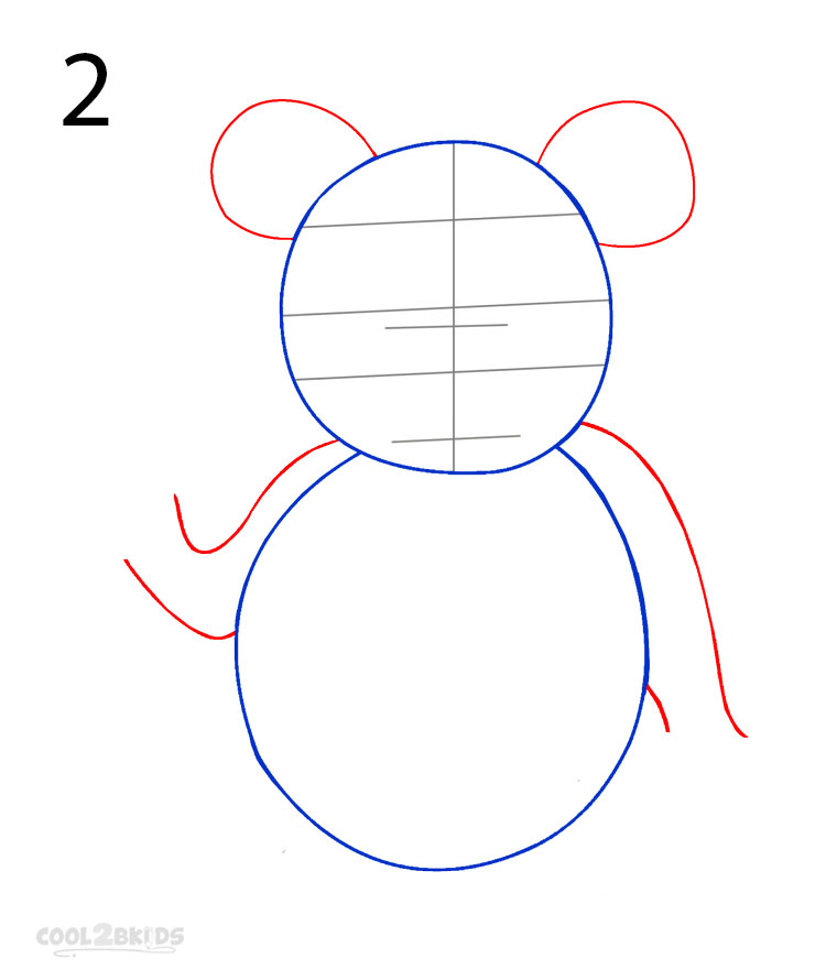 panda drawing step by step - photo #14