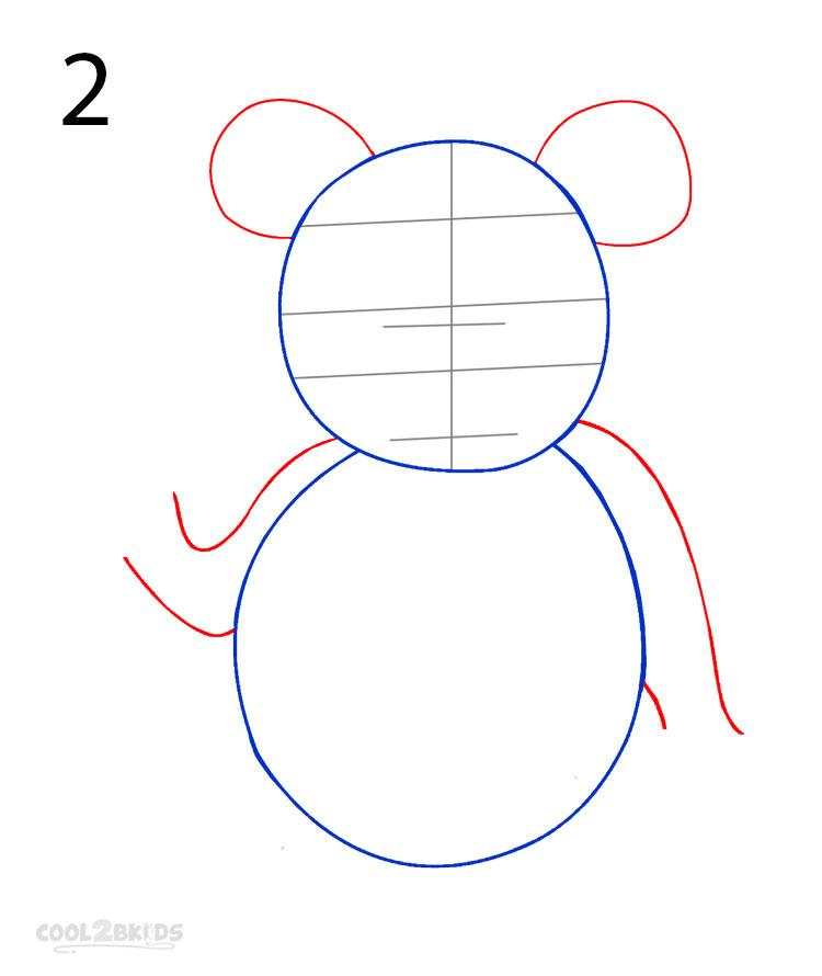 panda drawing step by step - photo #14
