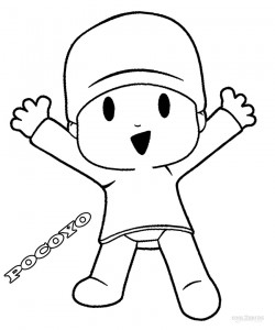 Pocoyo Coloring Pages to Print
