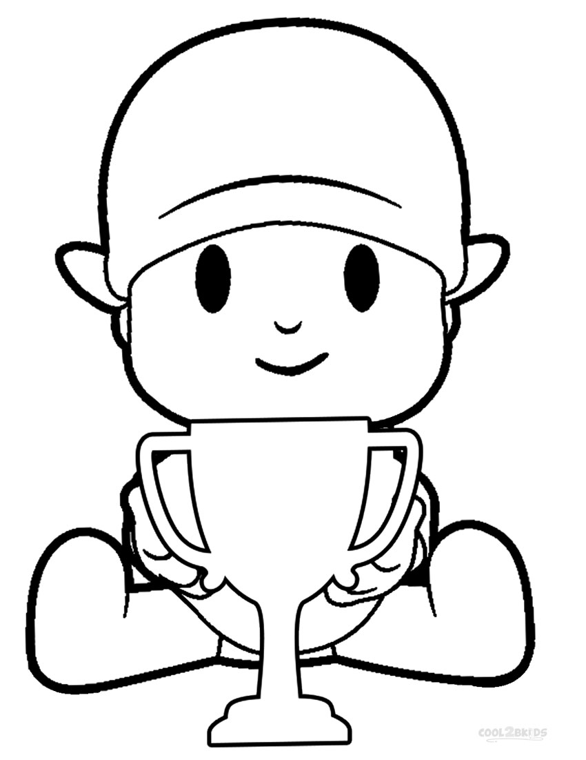 pocoyo coloring pages - photo#6
