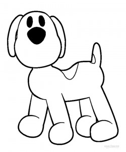 Pocoyo Loula Coloring Pages