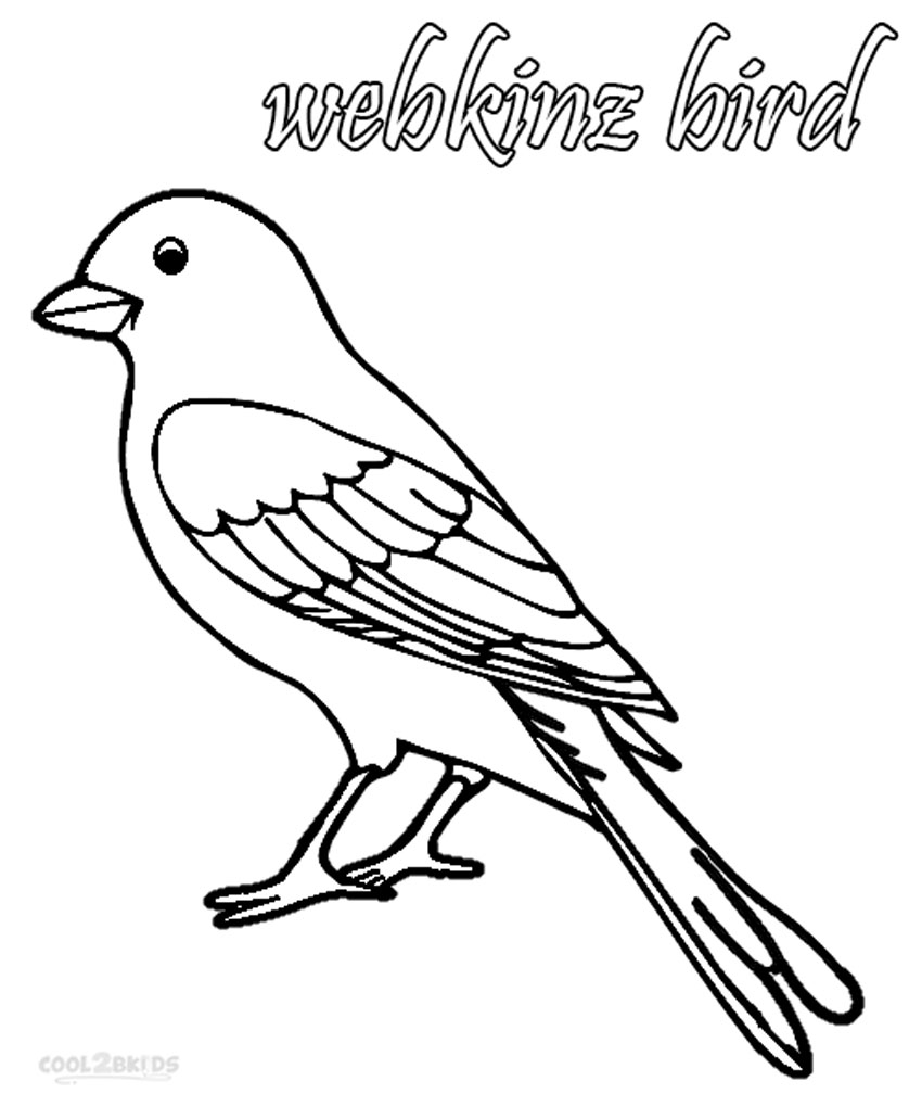 Printable Webkinz Coloring Pages