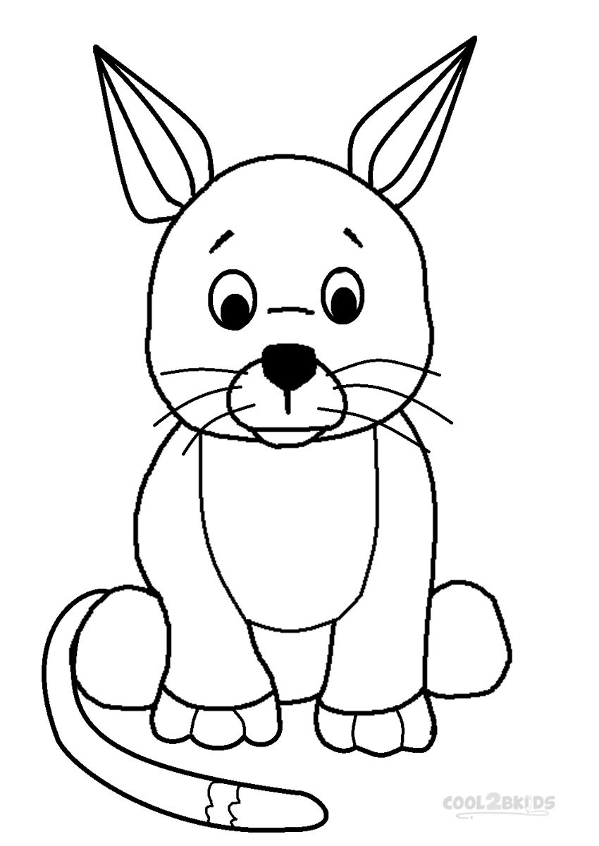 kids pages coloring printable - photo#3