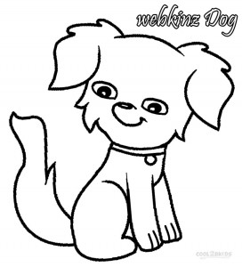 Webkinz Dog Coloring Pages