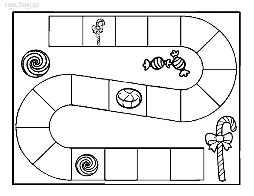 Life Borad Game Coloring Pages