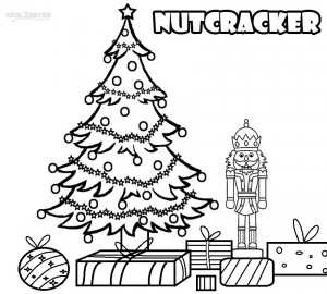 Christmas Nutcracker Coloring Page