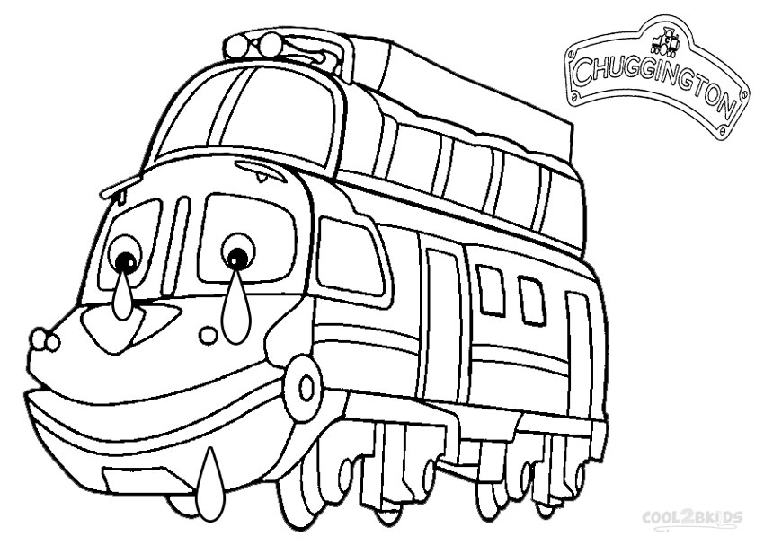 Printable Chuggington Coloring Pages For Kids Cool2bkids Chuggington Colouring Pages