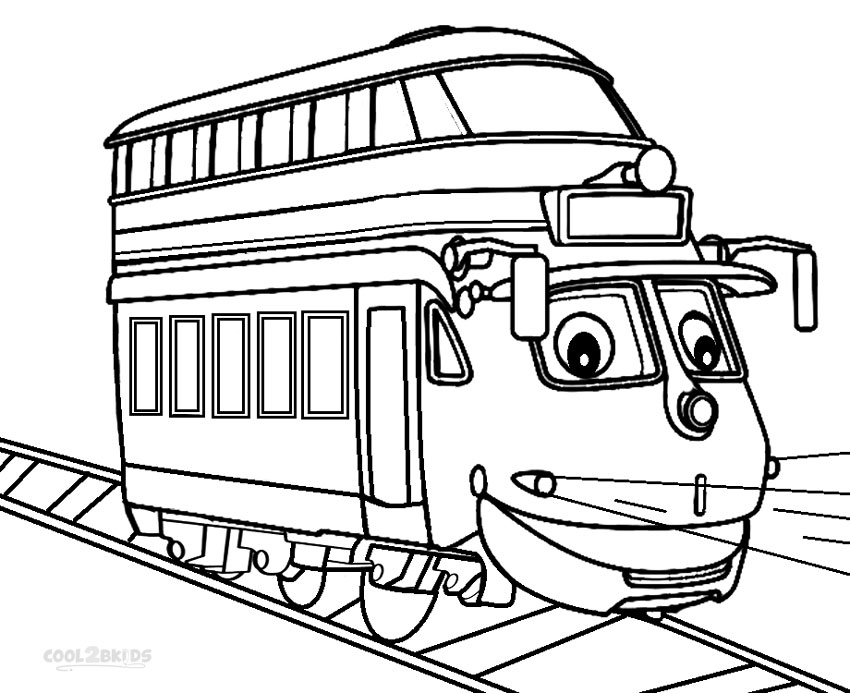 chuggington decka coloring pages