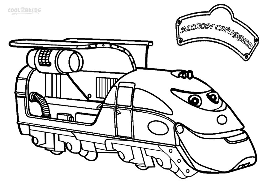 chuggington toys coloring pages - Chuggington Wilson Coloring Pages