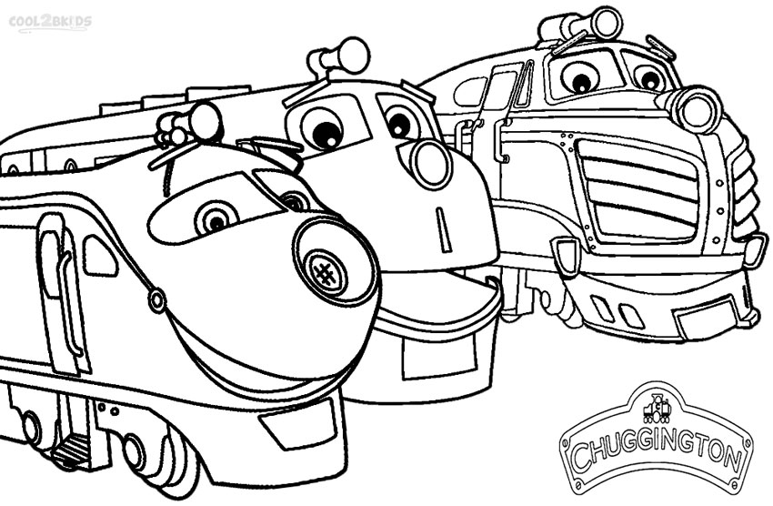 chuggington train coloring pages - Chuggington Wilson Coloring Pages