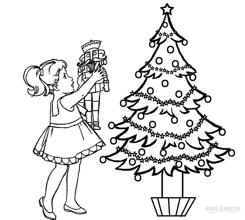 the nutcracker coloring pages - photo#4
