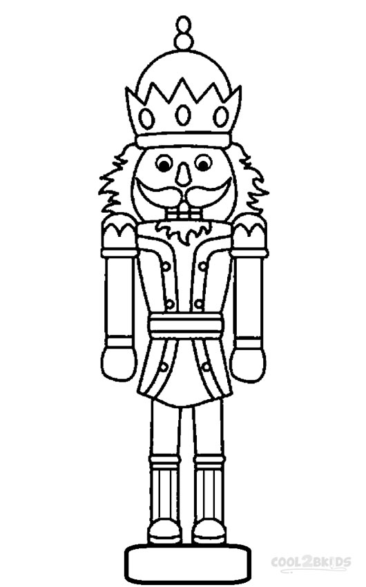 Nutcracker Coloring Pages Mouse King