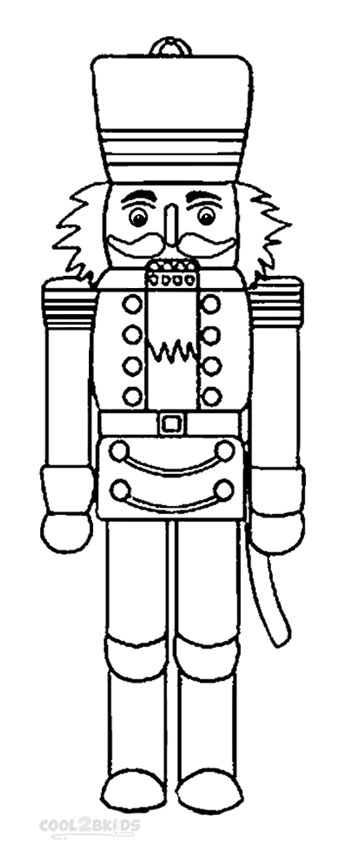 nutcracker soldier coloring pages