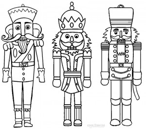 Nutcrackers Coloring Pages