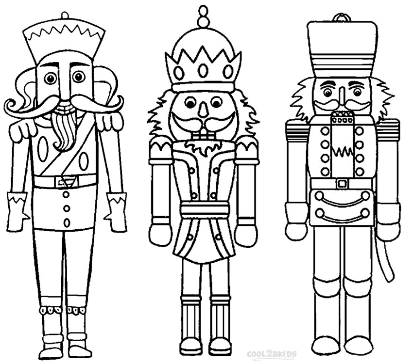 Printable Nutcracker Coloring Pages For Kids Cool2bkids