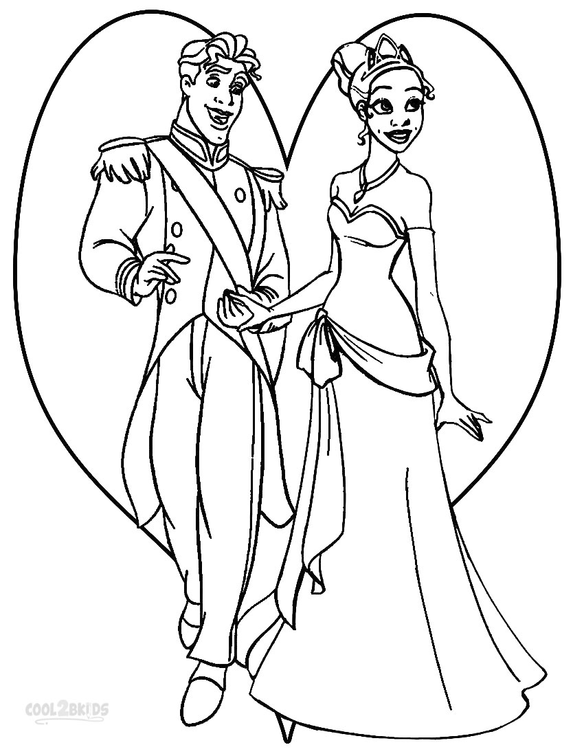 Printable Princess Tiana Coloring Pages For Kids | Cool2bKids