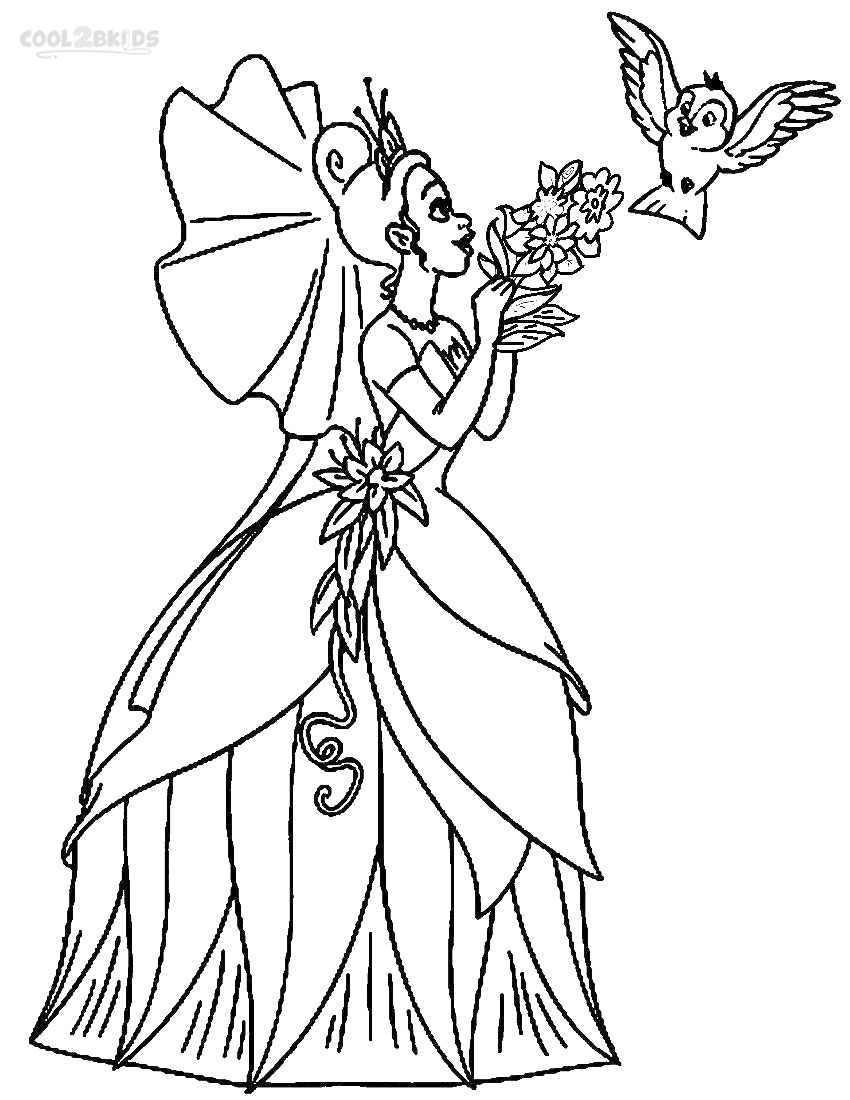 princess and coloring pages - photo#25