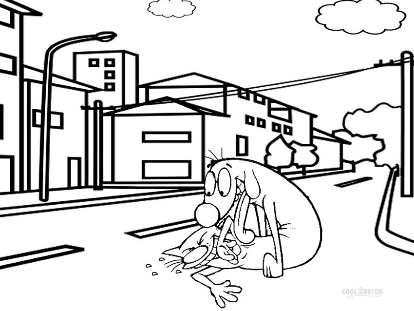 nickelodeon coloring pages - photo#37