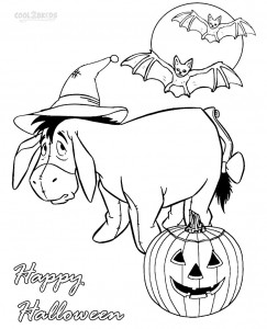 Nickelodeon Coloring Pages Halloween