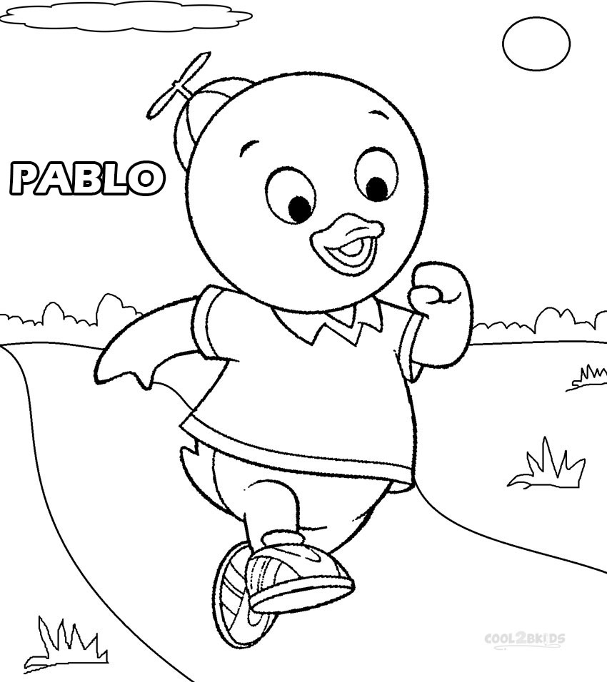nichelodian coloring pages - photo#6