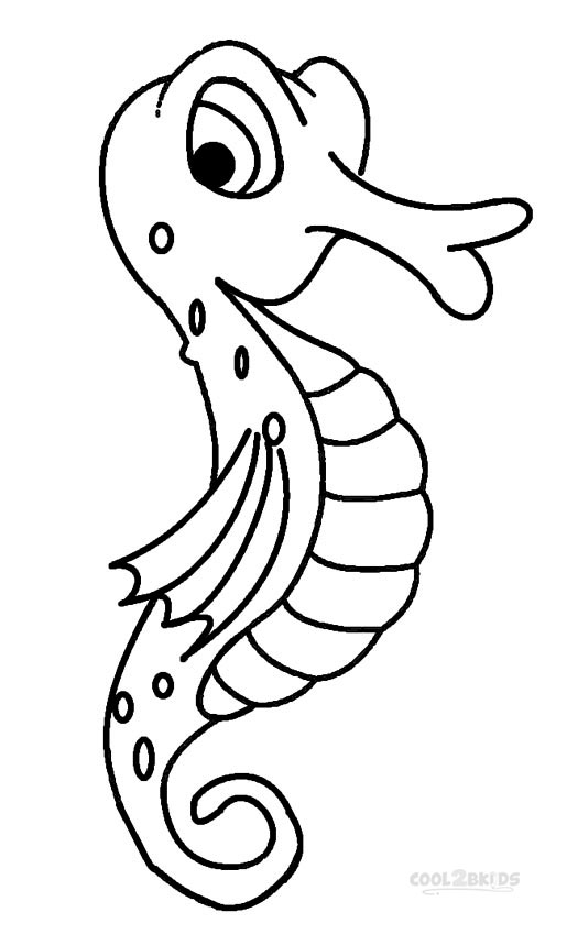 printable seahorse coloring pages for kids cool2bkids. Black Bedroom Furniture Sets. Home Design Ideas