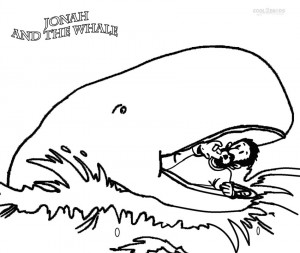 The Story of Jonah and the Whale Coloring Pages