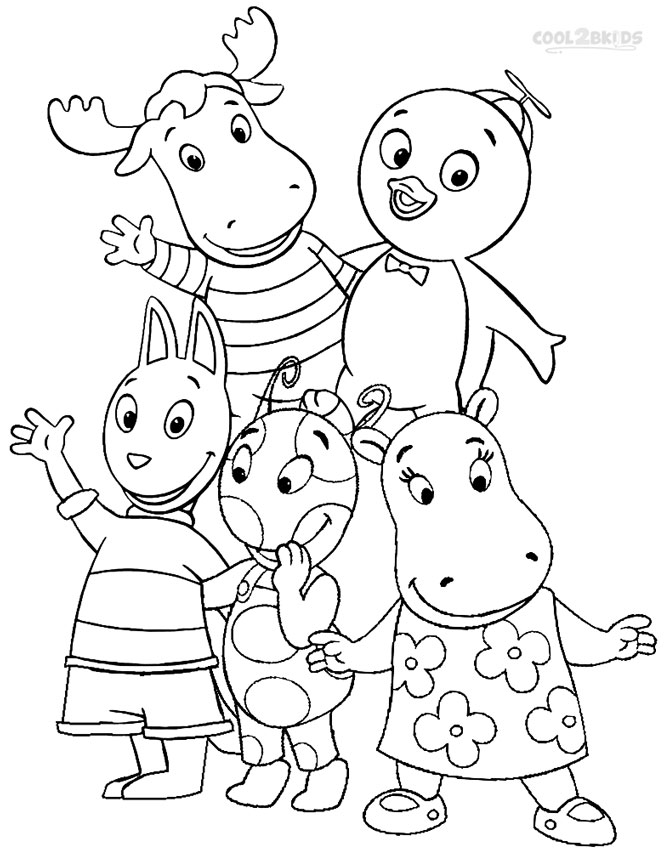 backyardagins printable coloring pages - photo#8