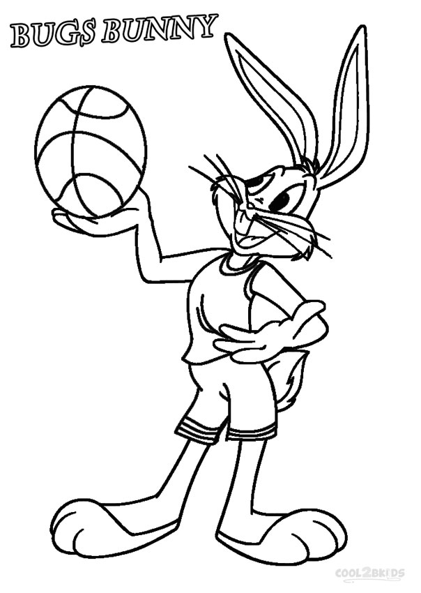 bugs bunny cartoons coloring pages