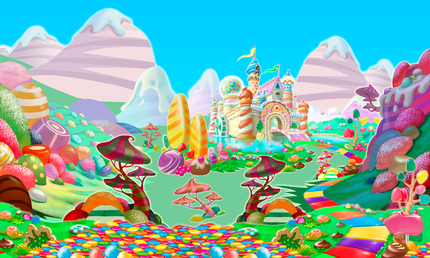 candyland castle coloring pages free - photo#35