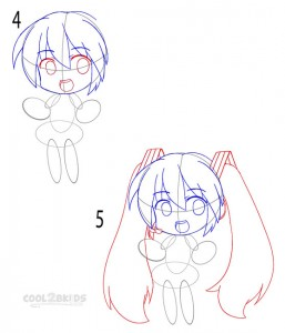 How to Draw a Chibi Step 2