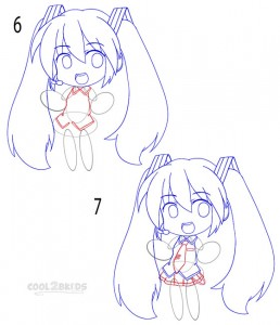 How to Draw a Chibi Step 3