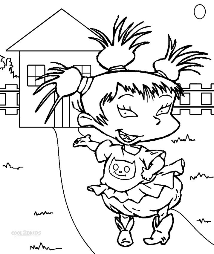 kimi rugrats coloring pages - Rugrats Characters Coloring Pages