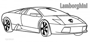Printable Lamborghini Coloring Pages For Kids Cool2bkids