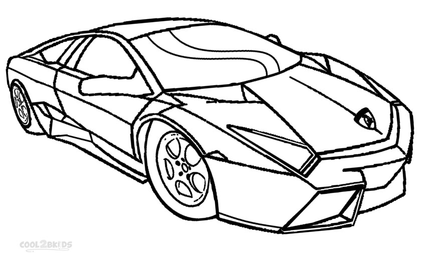 lamborghini coloring pages free