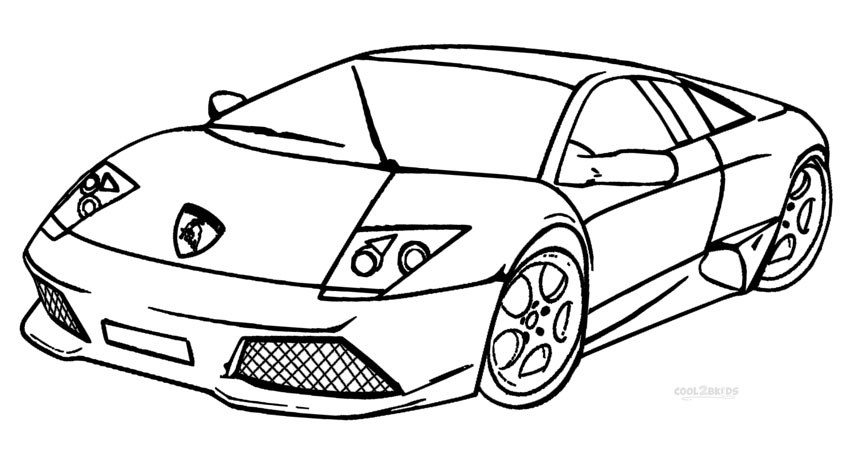 lamborghini diablo coloring pages
