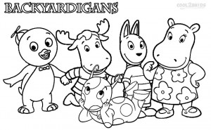 Printable Backyardigans Coloring Pages