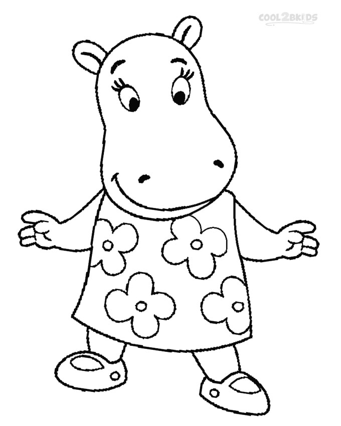 backyardigans coloring pages Printable Backyardigans Coloring Pages For Kids | Cool2bKids backyardigans coloring pages