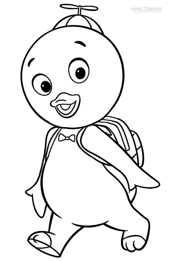 Printable Backyardigans Coloring