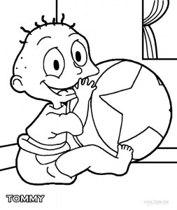 Tommy Rugrats Coloring Pages