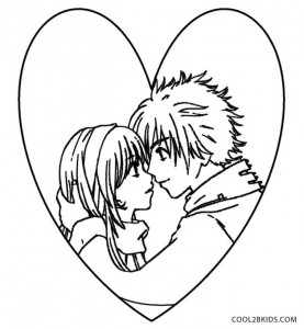 Cute Emo Coloring Pages