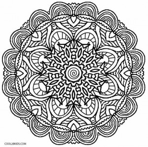 hard illusion coloring pages - photo#23