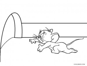 Jerry Mouse Coloring Pages