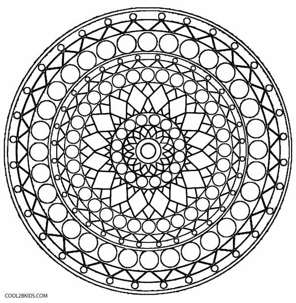 Printable Kaleidoscope Coloring Pages For Kids Cool2bkidsrhcool2bkids: Kaleidoscope Coloring Pages For Adults At Baymontmadison.com