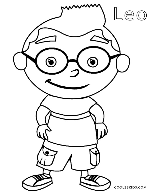 little einsteins online coloring pages - photo #33