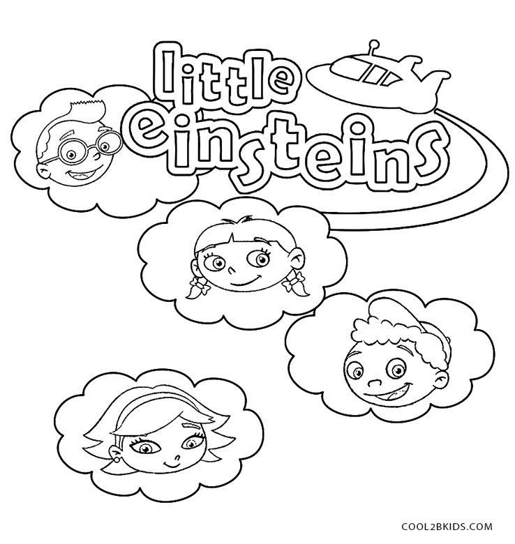 little einstein city coloring pages - photo#24
