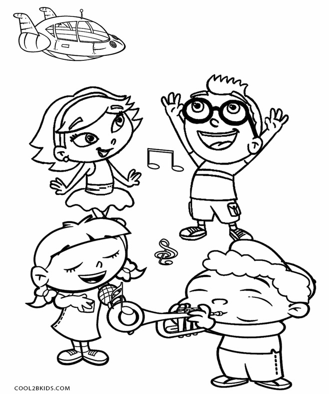 Printable Little Einsteins Coloring Pages For Kids | Cool2bKids