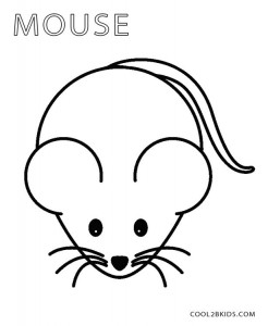 Printable Mouse Coloring Pages For Kids Cool2bkids